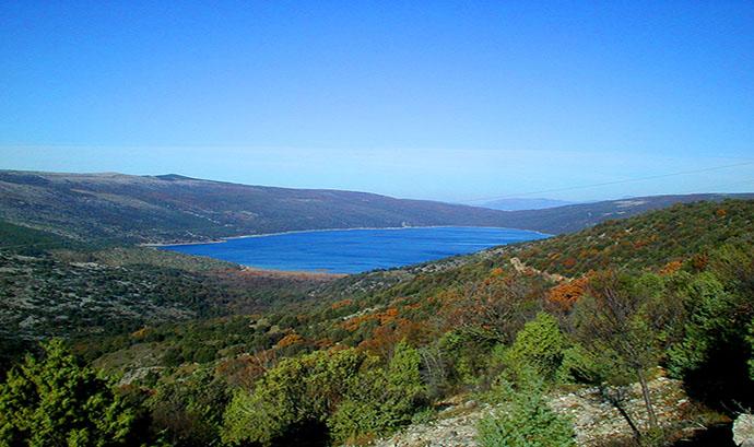 Vransko jezero, otok Cres